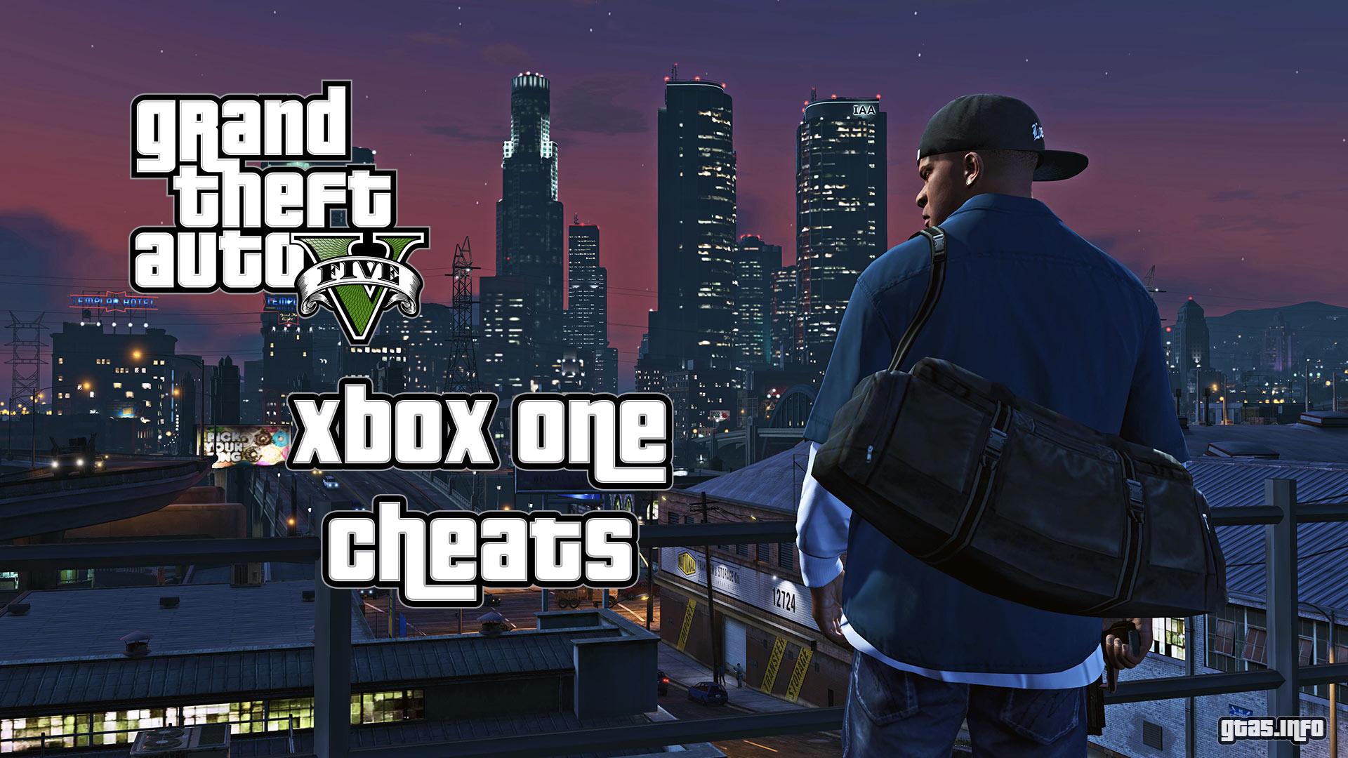 GTA 5 Xbox One Cheats