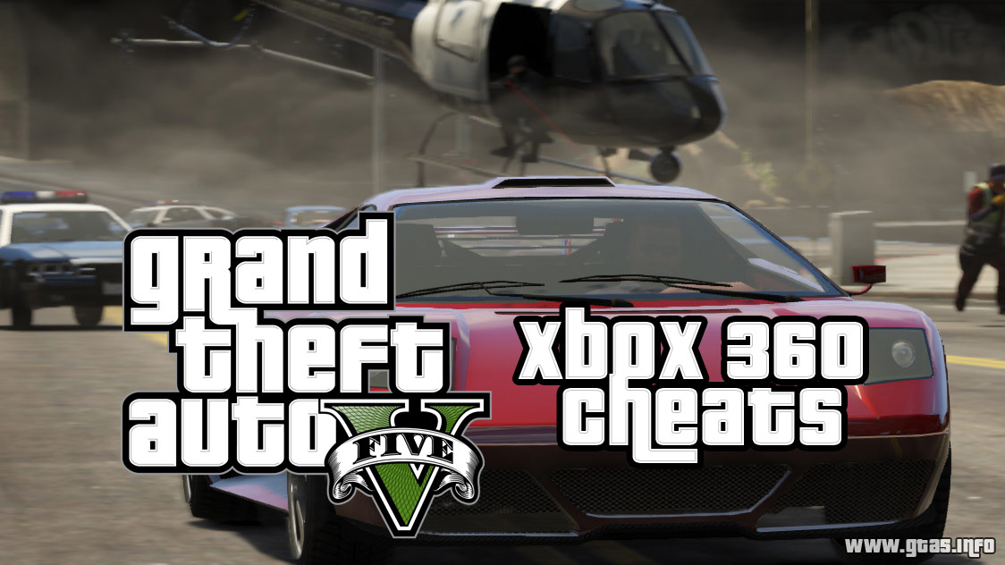 GTA 5 Cheats for Xbox 360