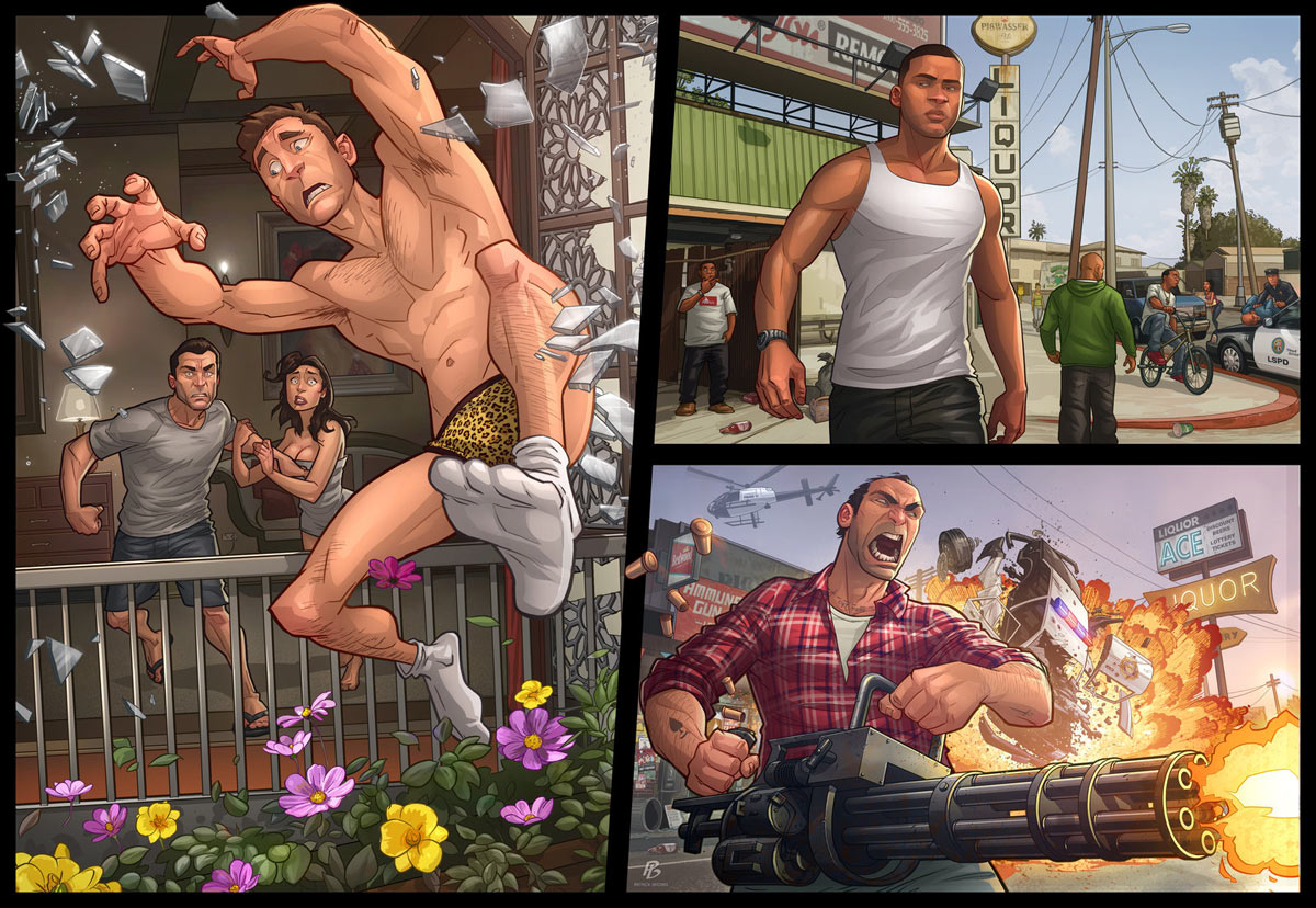 GTA 5 PC, Playstation 4 and Xbox One release