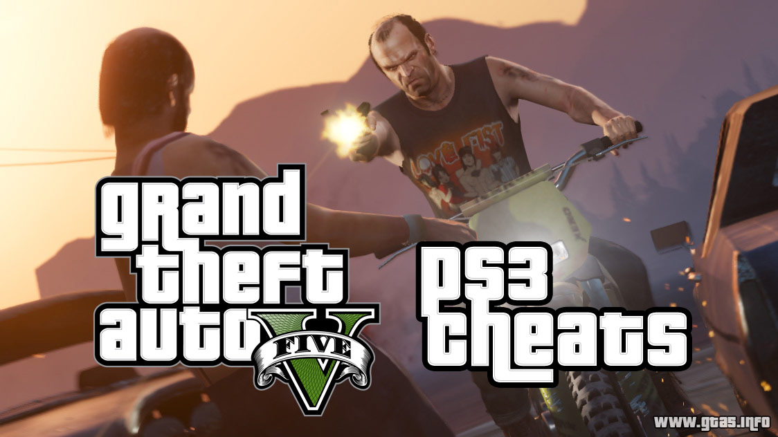 GTA 5 PS3 Cheats