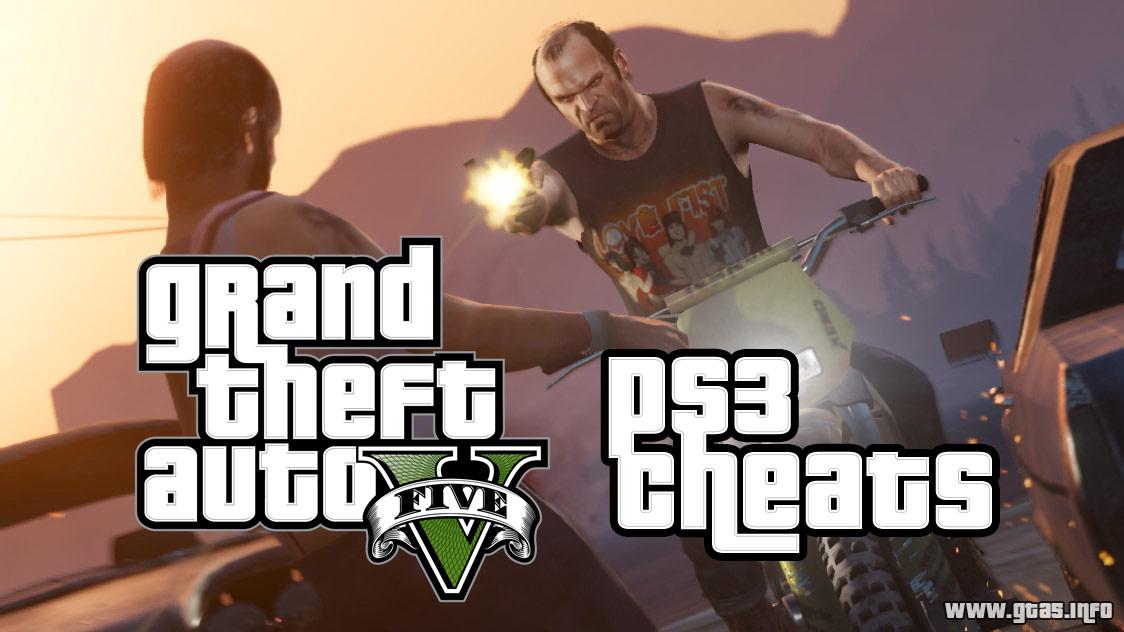GTA 5 PS3 Cheats